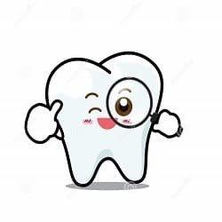 Studio dentistico l'igiene per i bambini.