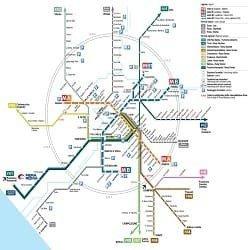 Mappa Roma Termini.