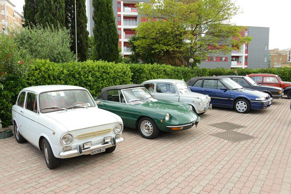 Studi Mazzei sponsor di un raduno d'auto d'epoca